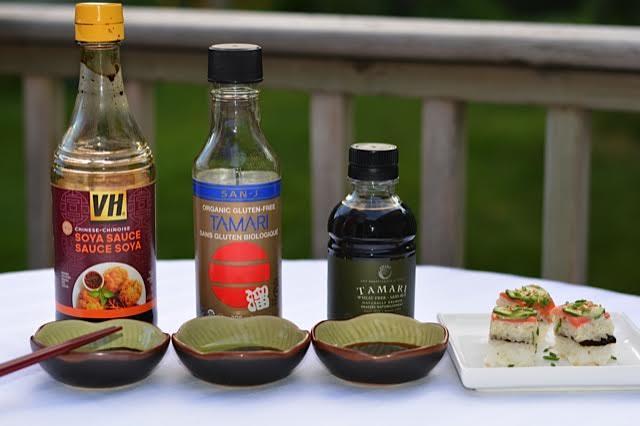 Gluten free soy sauce vs tamari tasting