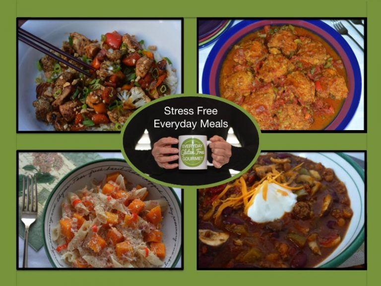 Stress free everyday meals on a gluten free diet everyday gluten stress free everyday meals on a gluten free diet forumfinder Gallery
