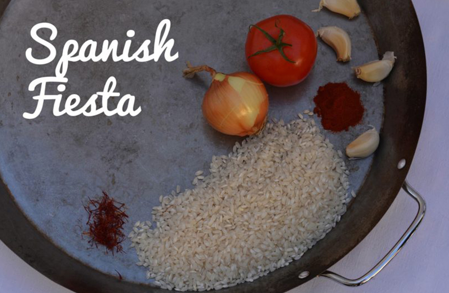 Spanish Fiesta Menu