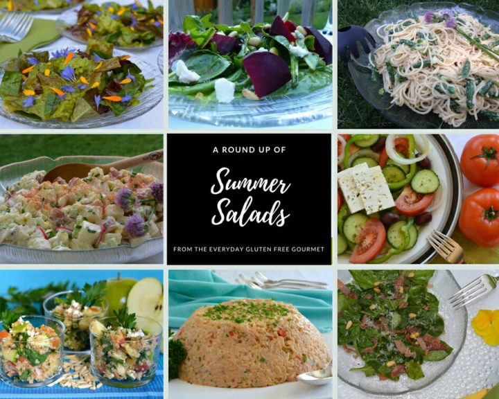 A Round Up of Summer Salads