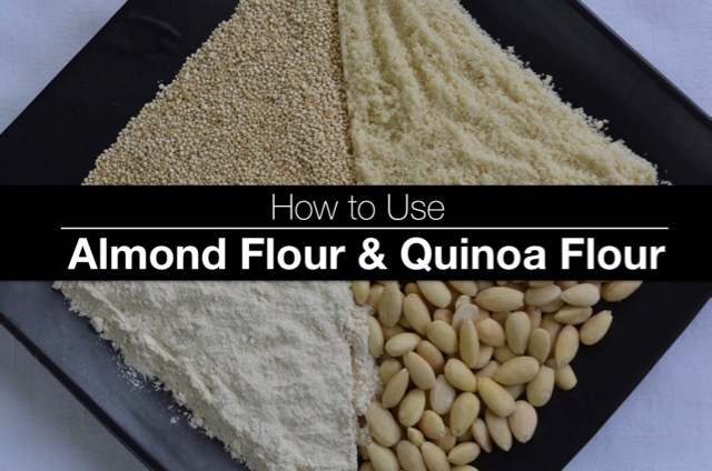 How To Use Almond and Quinoa Flour