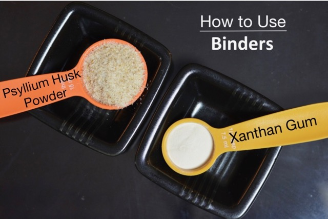 How To Use Binders in Gluten Free Baking