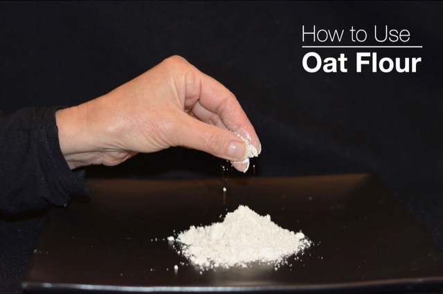 How to use oat flour