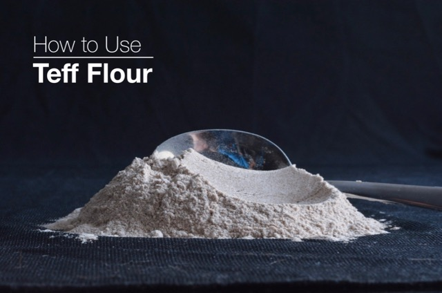 How To Use Teff Flour