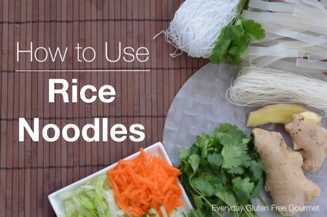 How to Use Rice Noodles