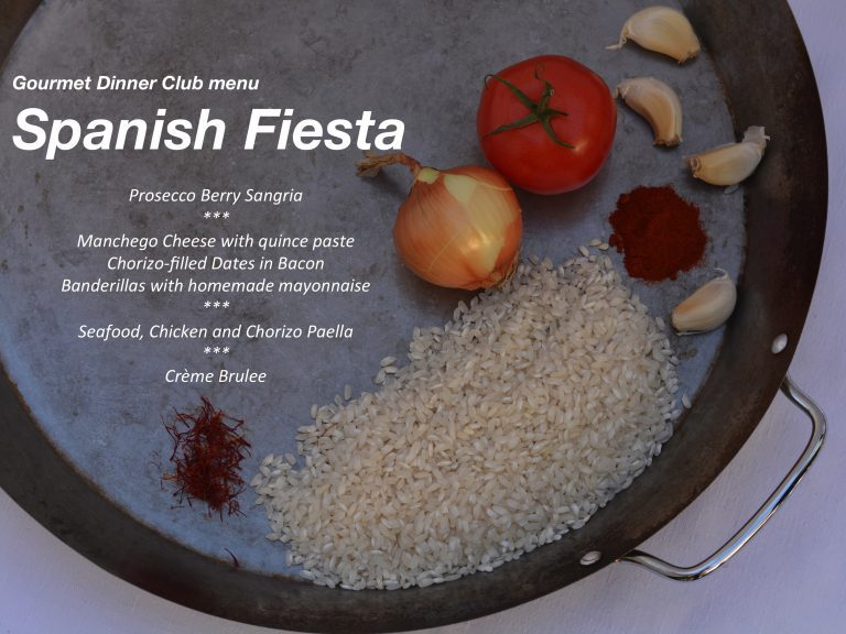 Gourmet Dinner Club – A Spanish Menu