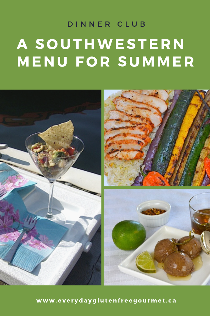 Dinner Club - A Southwestern Menu for Summer
