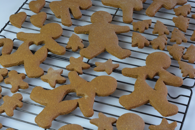 Gingerbread Cookies right out of the oven