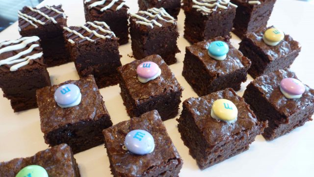 Gluten Free Chocolate Truffle Brownies