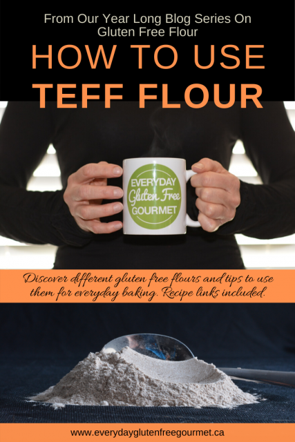 How to use Teff flour is 8th in my monthly blog post series on gluten free flour and what I consider the best uses for each one.